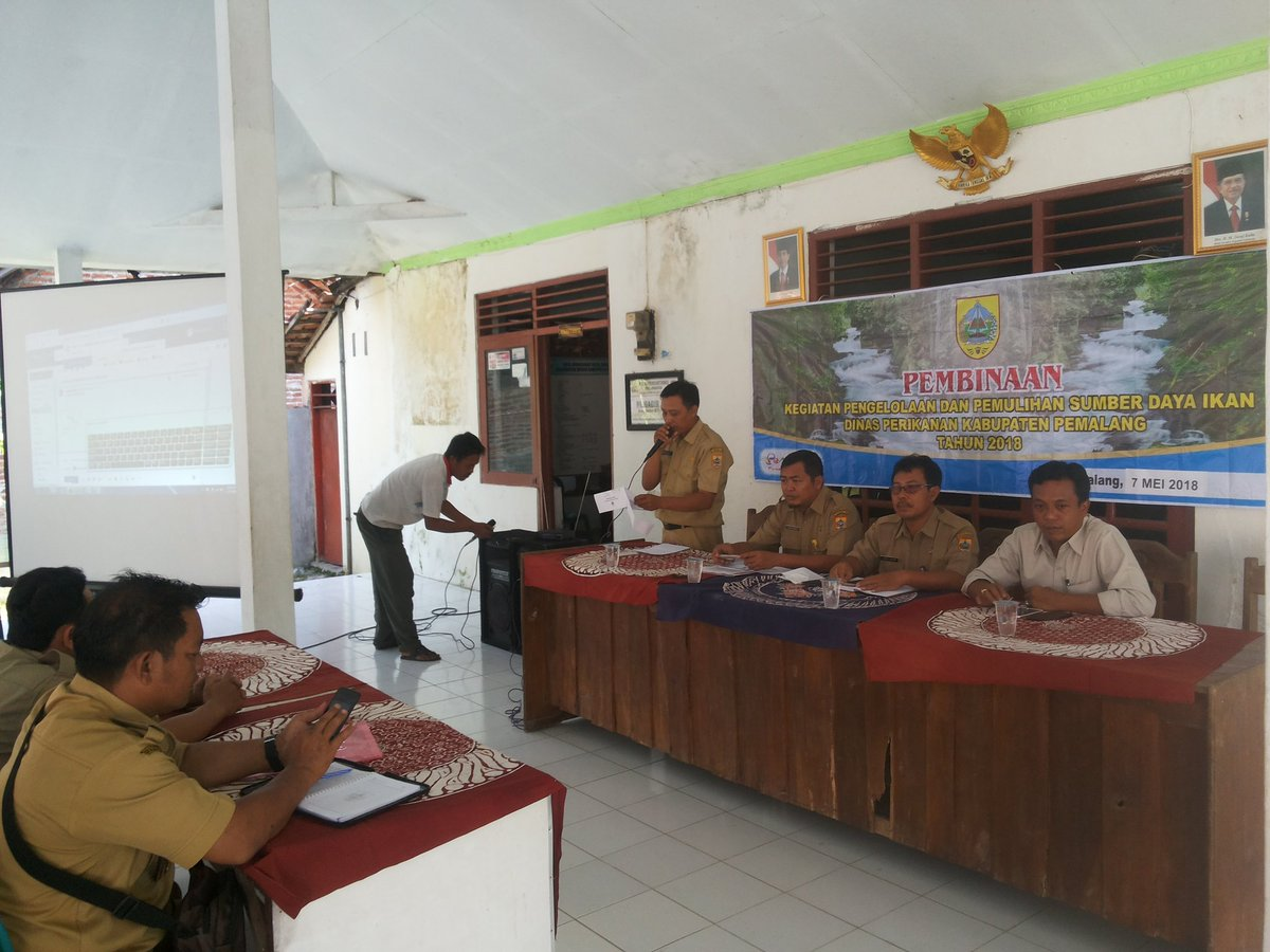 Sosialisasi/pembinaan kegiatan pengelolaan dan pemulihan sumber daya ikan Dinas Perikanan Kabupaten Pemalang
