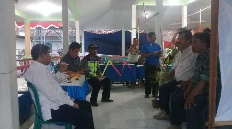 Rapat Pemungutan  dan Penghitungan Suara Pemilihan Kepala Desa Jraganan E-Voting 2018
