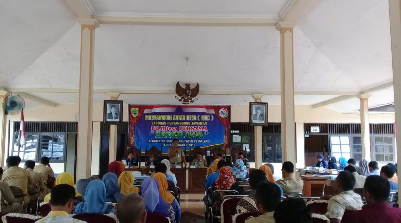 "Musyawarah Antar Desa LPJ BUMDes Bersama ""Bodeh Jaya"" Kec. Bodeh"